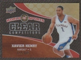 2010 Upper Deck World of Sports Clear Competitors #CC8 Xavier Henry /550