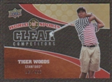 2010 Upper Deck World of Sports Clear Competitors #CC13 Tiger Woods /550