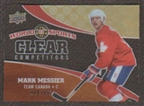 2010 Upper Deck World of Sports Clear Competitors #CC17 Mark Messier /550