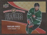 2010 Upper Deck World of Sports Clear Competitors #CC18 Taylor Hall /550