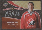 2010 Upper Deck World of Sports Clear Competitors #CC19 Patrick Roy /550