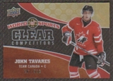 2010 Upper Deck World of Sports Clear Competitors #CC21 John Tavares /550