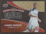 2010 Upper Deck World of Sports Clear Competitors #CC23 Landon Donovan /550