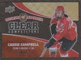 2010 Upper Deck World of Sports Clear Competitors #CC32 Cassie Campbell /550
