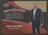 2010 Upper Deck World of Sports Clear Competitors #CC35 Randy Couture /550