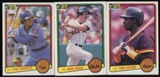 1983 Donruss Baseball Near Complete Set (NM)
