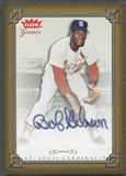 2004 Greats of the Game #BG Bob Gibson Auto
