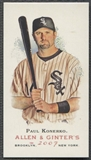 2007 Topps Allen and Ginter #132 Paul Konerko Mini Bazooka #16/25