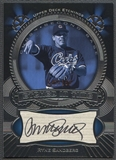 2004 Upper Deck Etchings #RS Ryne Sandberg Etched in Time Black Auto #102/150