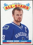 2012/13 Upper Deck O-Pee-Chee All Stars #AS16 Henrik Sedin