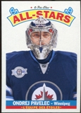 2012/13 Upper Deck O-Pee-Chee All Stars #AS33 Ondrej Pavelec