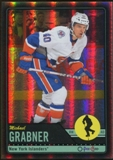 2012/13 Upper Deck O-Pee-Chee Black Rainbow #24 Michael Grabner /100