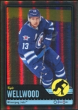 2012/13 Upper Deck O-Pee-Chee Black Rainbow #215 Kyle Wellwood 64/100