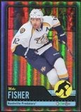 2012/13 Upper Deck O-Pee-Chee Black Rainbow #250 Mike Fisher 11/100
