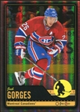 2012/13 Upper Deck O-Pee-Chee Black Rainbow #374 Josh Gorges 7/100