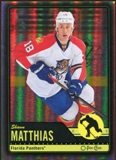 2012/13 Upper Deck O-Pee-Chee Black Rainbow #416 Shawn Matthias 61/100