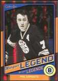 2012/13 Upper Deck O-Pee-Chee Black Rainbow #505 Phil Esposito 59/100