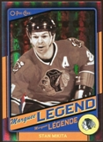 2012/13 Upper Deck O-Pee-Chee Black Rainbow #510 Stan Mikita 20/100