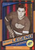 2012/13 Upper Deck O-Pee-Chee Black Rainbow #512 Red Kelly 50/100