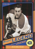 2012/13 Upper Deck O-Pee-Chee Black Rainbow #525 Jean Beliveau /100