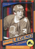 2012/13 Upper Deck O-Pee-Chee Black Rainbow #541 Peter Stastny 27/100