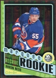 2012/13 Upper Deck O-Pee-Chee Black Rainbow #582 Aaron Ness 27/100