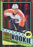 2012/13 Upper Deck O-Pee-Chee Black Rainbow #586 Brandon Manning 10/100