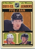 2012/13 Upper Deck O-Pee-Chee League Leaders (Power-Play Goals) #LLPPG James Neal/Scott Hartnell/Corey Perry