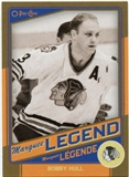 2012/13 Upper Deck O-Pee-Chee Marquee Legends Gold #G2 Bobby Hull