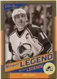 2012/13 Upper Deck O-Pee-Chee Marquee Legends Gold #G4 Joe Sakic