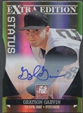 2011 Donruss Elite Extra Edition #53 Grayson Garvin Rookie Prospects Signature Status Gold Auto #3/5