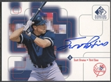 1999 SP Signature #SB Scott Brosius Auto SP