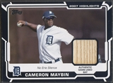 2008 Topps #CM Cameron Maybin Highlights Relics Bat