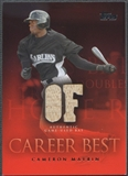 2009 Topps #CM Cameron Maybin Career Best Relics Bat