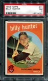 1959 Topps Baseball #11 Billy Hunter PSA 7 (NM) *4022