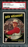 1959 Topps Baseball #14 Pete Whisenant PSA 8 (NM-MT) *4023