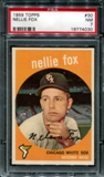 1959 Topps Baseball #30 Nellie Fox PSA 7 (NM) *4030