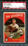 1959 Topps Baseball #66 Joe Ginsberg PSA 7 (NM) *4038