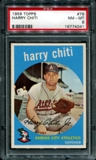 1959 Topps Baseball #79 Harry Chiti PSA 8 (NM-MT) *4041