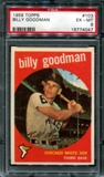 1959 Topps Baseball #103 Billy Goodman PSA 6 (EX-MT) *4047