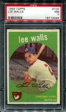 1959 Topps Baseball #105 Lee Walls PSA 7 (NM) *4049