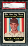 1959 Topps Baseball #144 Jerry Walker PSA 7 (NM) *4064