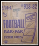 1982 Topps Football Rack 3-Box Case