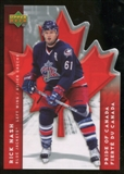 2007/08 McDonald's Upper Deck Pride of Canada #PC2 Rick Nash