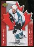 2007/08 McDonald's Upper Deck Pride of Canada #PC3 Joe Thornton