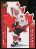 2007/08 McDonald's Upper Deck Pride of Canada #PC6 Jarome Iginla