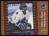 2007/08 McDonald's Upper Deck Season in Review #SR5 Roberto Luongo