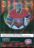 2008/09 McDonald's Upper Deck Superstar Spotlight #IS1 Carey Price