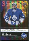 2008/09 McDonald's Upper Deck Superstar Spotlight #IS4 Vesa Toskala