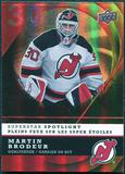 2008/09 McDonald's Upper Deck Superstar Spotlight #IS14 Martin Brodeur